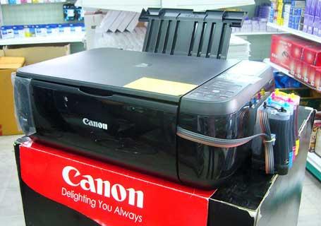 harga printer canon mp287 dengan infus