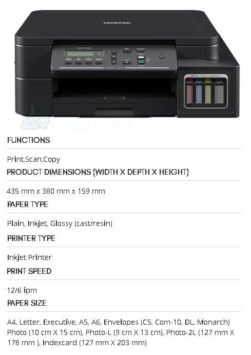 Review-spesifikasi-printer-brother-dpc-t310