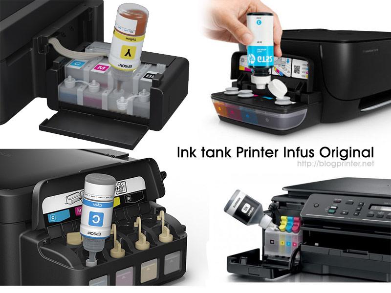 Gambar Tabung Tinta Printer original semua merk printer terbaru