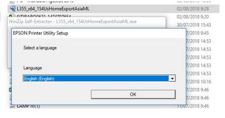 Cara menginstal driver printer epson utility
