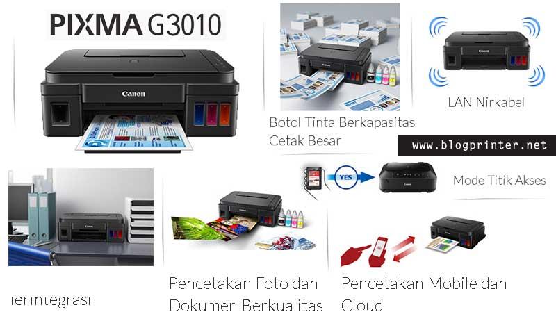 Informasi Harga Printer canon G3010